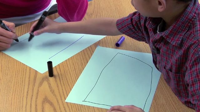 Describing and Drawing Shapes with Child 14