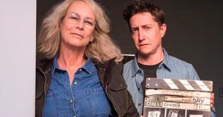 First Look at Jamie Lee Curtis on Halloween Reboot Set -- Jamie Lee Curtis has shared the first official set photo from Blumhouse's new Halloween movie. -- http://movieweb.com/halloween-movie-2018-jamie-lee-curtis-set-photo/