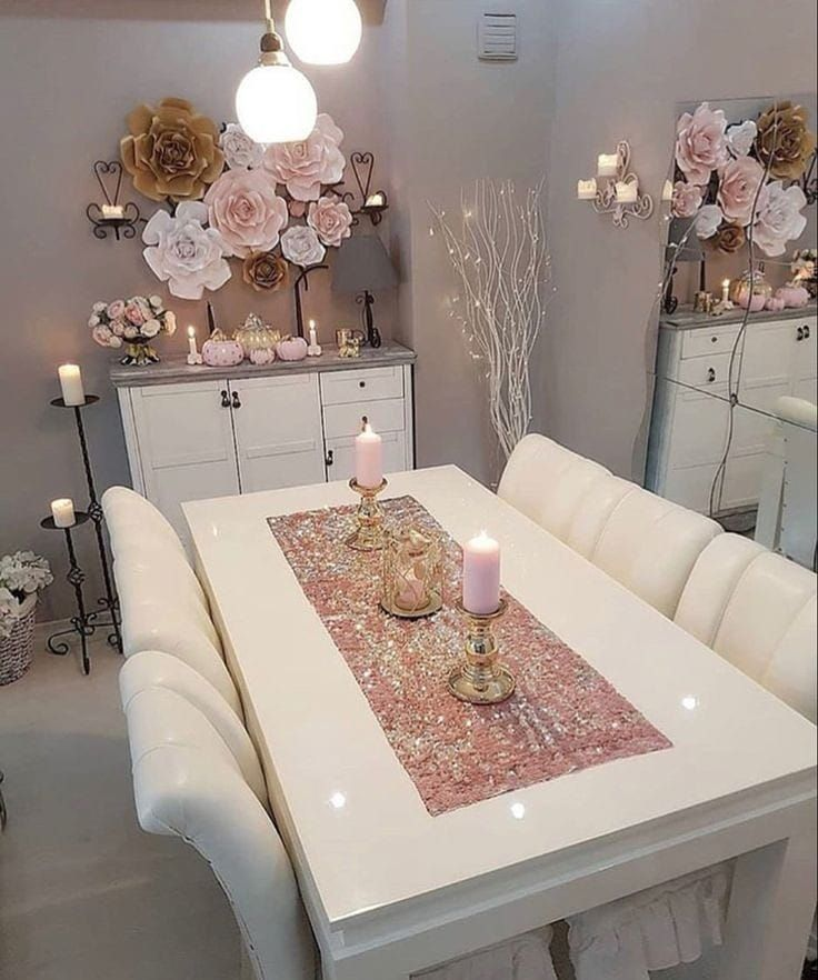 Table Decor Living Room Dining Cozy
