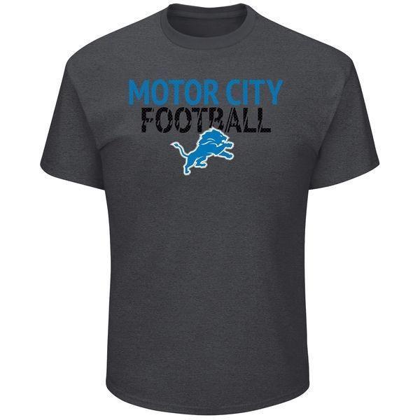 NFL Detroit Lions Men's Big and Tall Safety Blitz T-Shirt