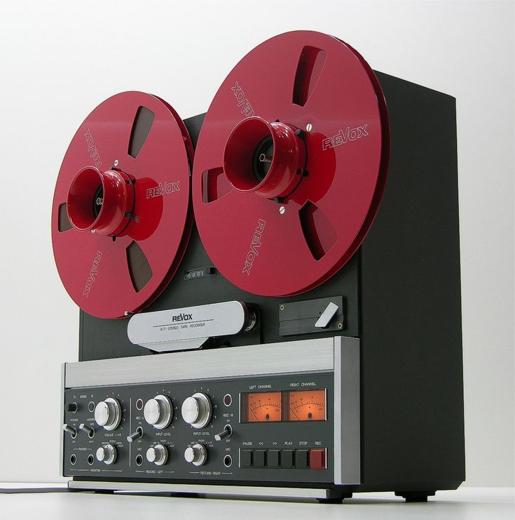 The legendary Revox B77 reel to reel heaven, enough for a whole party!
