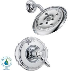 Delta Victorian Chrome 1-Handle Watersense Shower Faucet Trim Kit With
