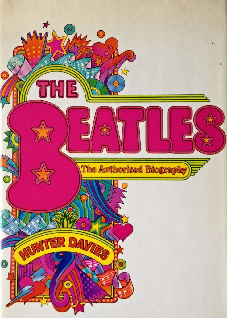 The Beatles, The Authorized Biography, Paper Back Book Cover