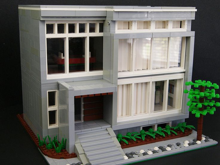 how to make a lego city house