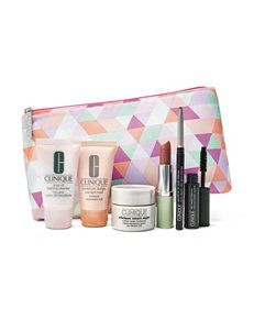 Pre-Order (until Jan 3) Clinique 7-piece Free Bonus Gift with $27 Purchase at Stage Stores - details at MakeupBonuses.com #Clinique #StageStores #GWP