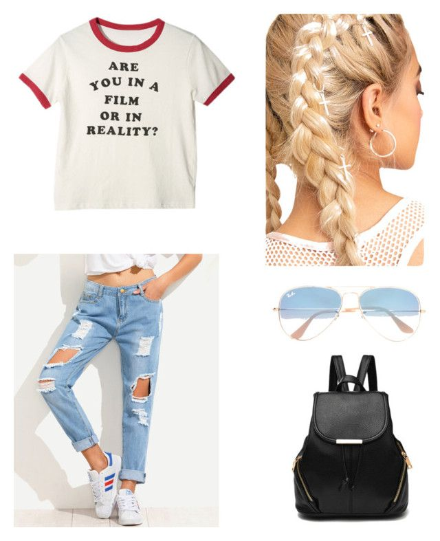 """Casiñual"" by maleja-castro-torres on Polyvore featuring moda y Ray-Ban"