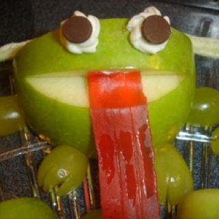 Frog Snack for School