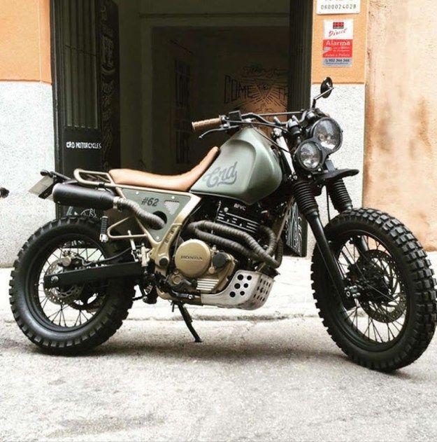HONDA NX650 ~ CRD ~ OTTONERO