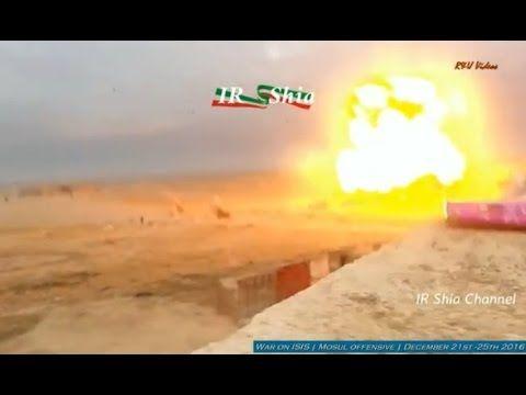 Guerra contra o ISIS no Iraque - Ofensiva em Mosul - 21 a 25.12.2016