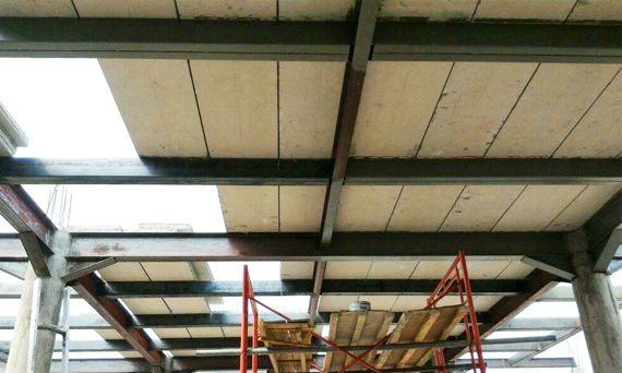 Concrete Forms Sandwich Roofing Sheets Sound Transmission