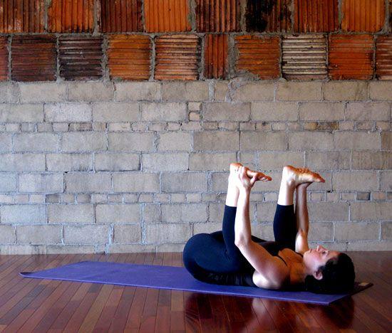 Yoga poses to help a headache