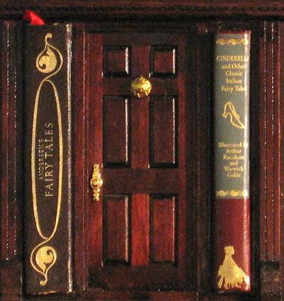 Nicola's, for example, has a classy wood-paneled door between two books of fairy tales.