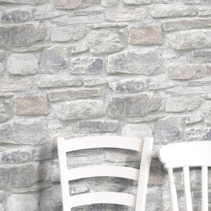 Grey And Mixed Colour Brick Effect Wallpaper Realistic WallpaperLiving Room