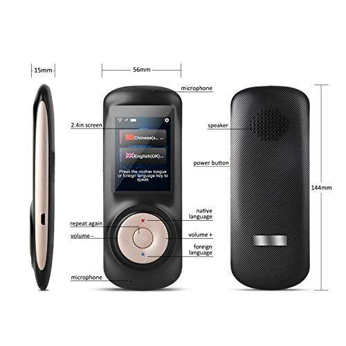 Amazon com : Instant Voice Language Translator Device, Smart Two Way