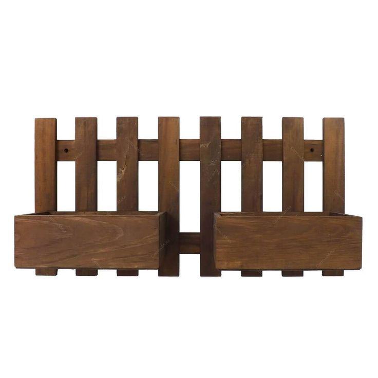 cerca de madeira rustica para jardimDe Madeira Para Jardim no