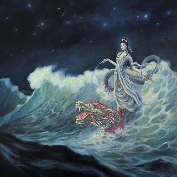 Guan Yin Rides the Dragon  Bryce Widom