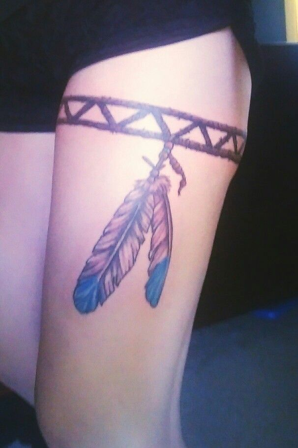 17 best ideas about leg band tattoos on pinterest black for Thigh band tattoo