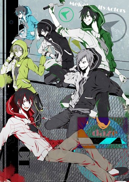 Kagerou Project - Mekakucity Actors