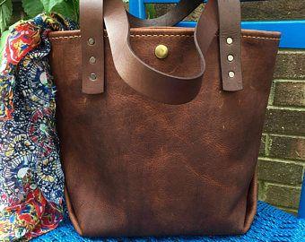 Kleine Leder Handtasche * kleine Leder Handtasche * braun Leder Bandbag * Mini Handtasche * weiches Leder Handtasche * Lilli Leder-Handtasche