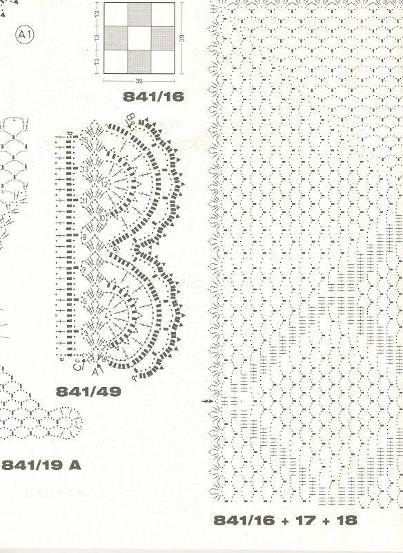 liveinternet.ru | Revistas, Chal de crochet, Picasa