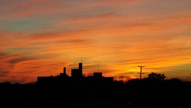 #sunset #fall #orange #scenic #calm
