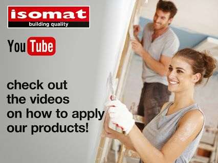 Visit our YouTube channel and follow the step-by-step application process of ISOMAT's products! https://www.youtube.com/user/isomat2010
