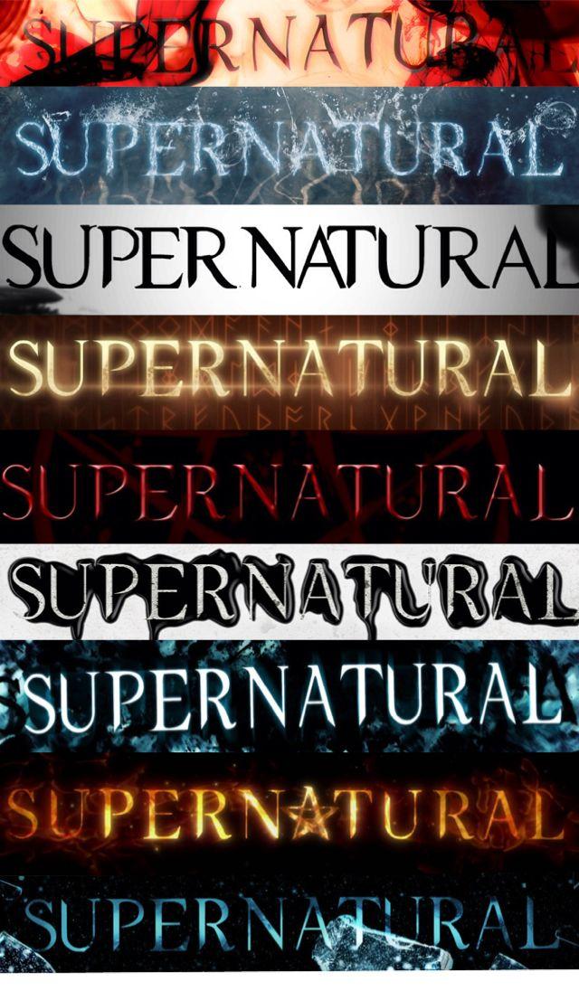 Supernatural background. They aren't in order....grrrr