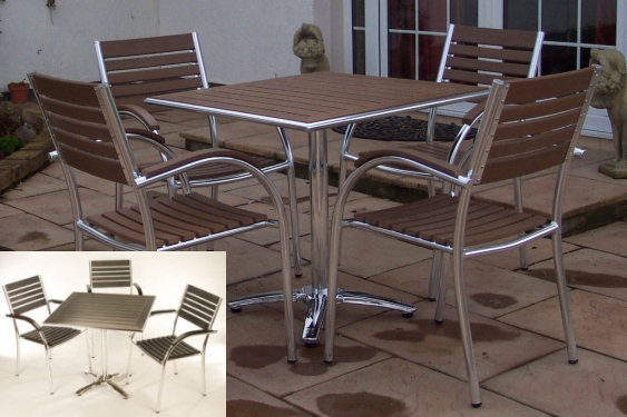 Bistro Table And Chairs, Henderson Outdoor Garden Patio Furniture