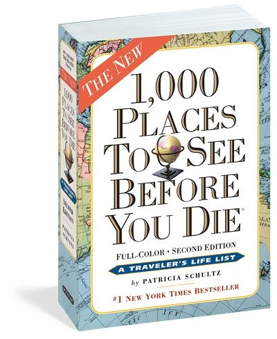 1000 Places To See Before You Die.