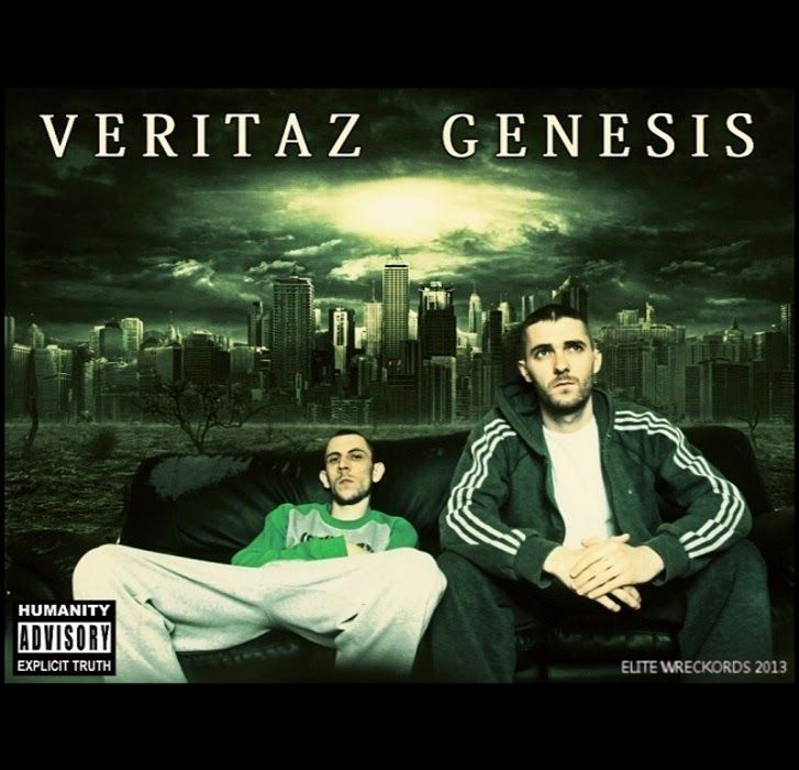 Veritaz - Genesis (8 track album)   tap2play - download  - Irish Hip Hop  1.   Intro 00:50 2.   The Beginning 05:02 3.   The Chosen Ones 04:40 4.   The Devil May Cry 04:52 5.   Free/Dumb? 04:52 6.   Promised Land 04:44 7.   The Dream 04:41 8.   The Truth 03:51  #IrishHipHop | #nuerahiphop | #numarch  |  Hiphopculture