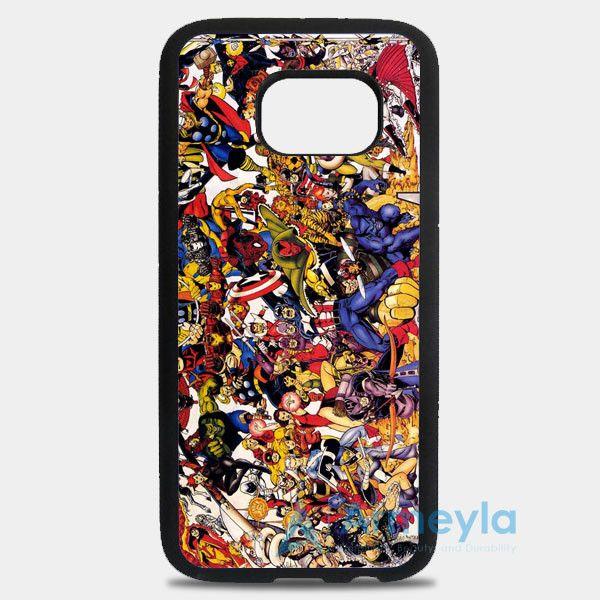 The Avengers Characters Art Samsung Galaxy S8 Plus Case | armeyla.com