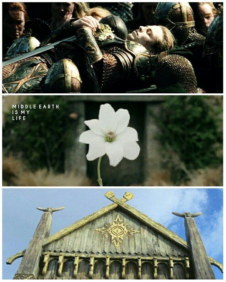 For Rohan ❤ #middleearth #rohan #prince #theodred #flower #castle #collage #lordoftherings #lotr #parishowestrewe #tolkien #jrrtolkien #film