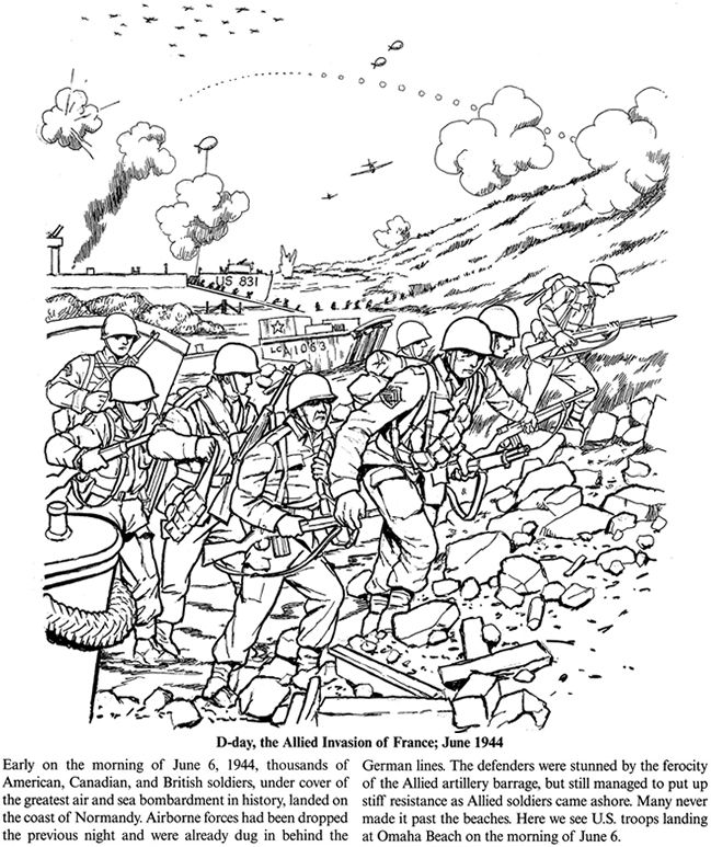 19 best Coloring Pages/LineArt World Wars images on Pinterest ...