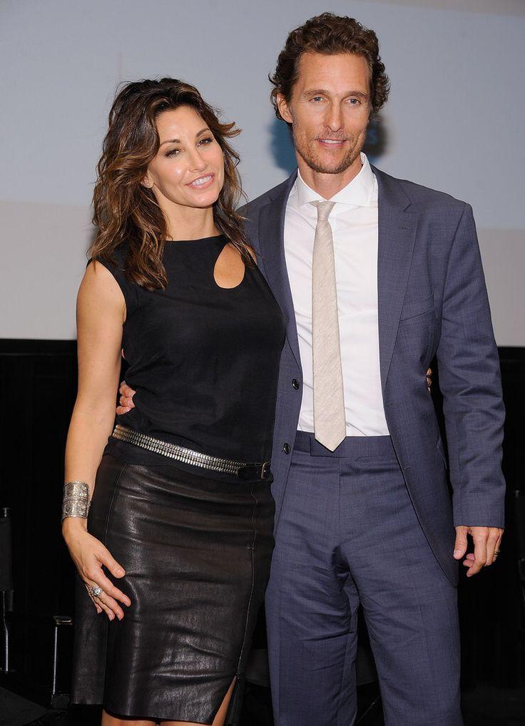 KILLER JOE (2011) - Matthew McConaughey & Gina Gerson at NYC screening of the film.