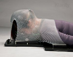 Klarity Prone Position Head Support uses with O-type Head & Shoulder Masks for prone position fixation.