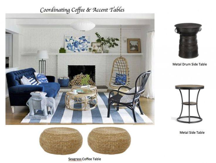 How To Coordinate Coffee U0026 Accent Tables Like A Designer
