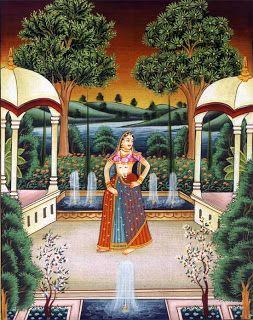 handicrafts jewelry art rajput paintings art paintings rajasthani ...
