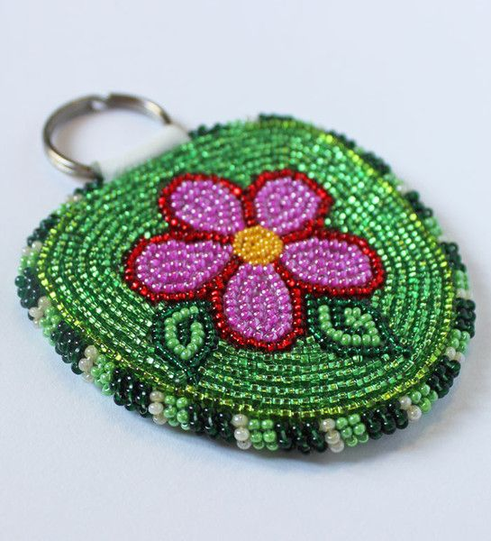 Flower Key Chain by Priscilla Wetrade from Gameti, NT. $39 Tlicho Online Store