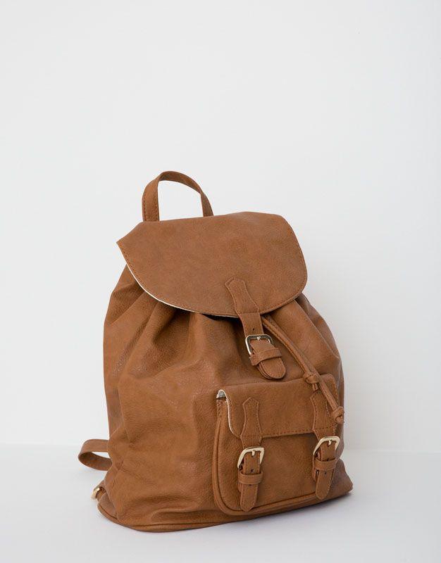 :Front pocket backpack
