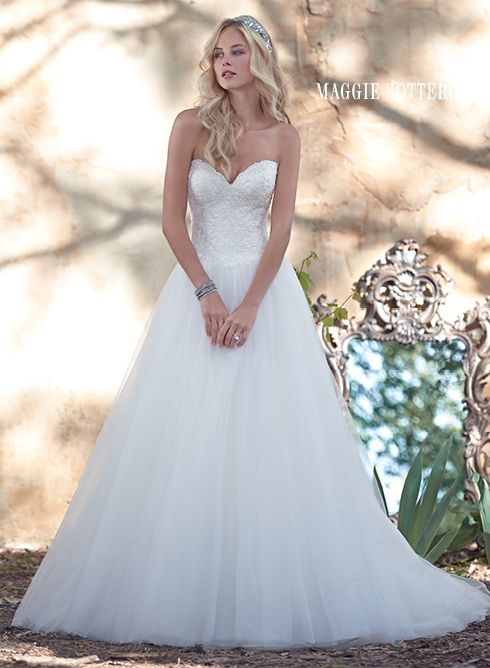245 best Maggie Sottero Aracella Collection images on Pinterest ...