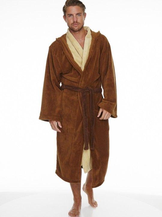 Star Wars Jedi Outfit Adult Fleece Bathrobe