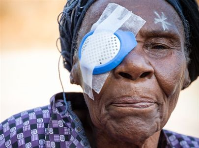 Cataract surgery for a mom or dad - the beautiful gift of 'Now I can see you!'