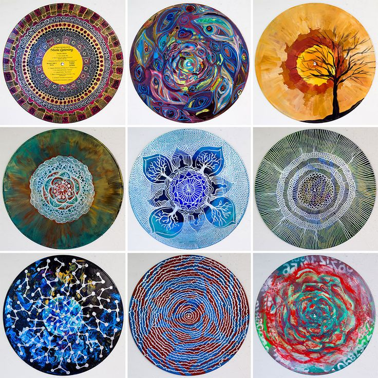 vinyl-record-mandalas-hand-painted-sara-roizen-19. If you open the link you can read the article.