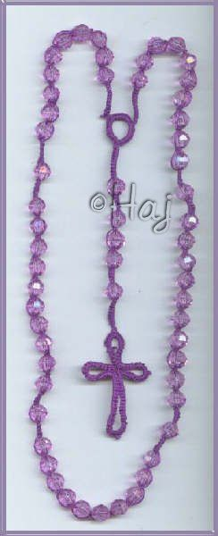 rosary with beads