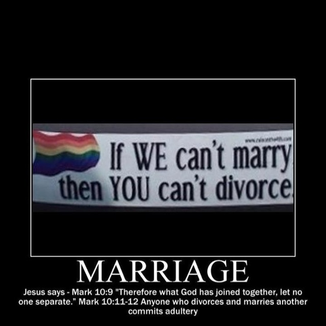 Against fact gay marriage