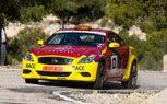Infiniti G37S Rally Car! Not Quite. For more, click http://www.autoguide.com/auto-news/2011/04/infiniti-g37s-rally-car-not-quite.html