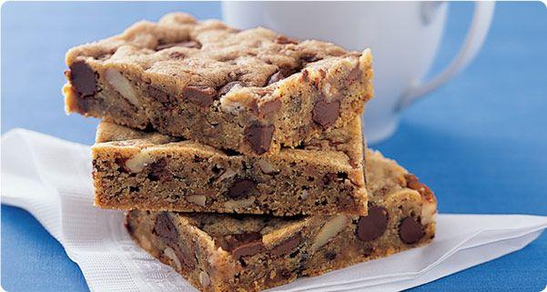 Triple Chocolate Chunk Cookie Bars Recipes — Dishmaps