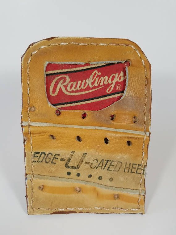Check out this item in my Etsy shop https://www.etsy.com/listing/567491622/repurposed-rawlings-baseball-glove