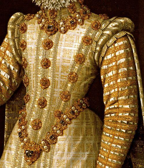 Infanta Isabela Clara Eugenia [daughter of Elizabeth of Valois]. SPANISH