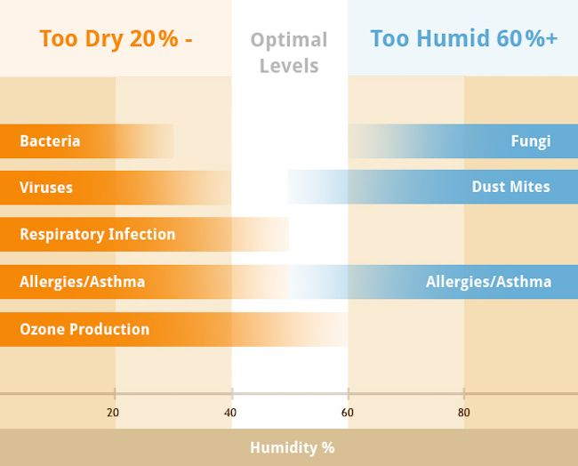 available and keep you updated on the latest health and wellness information. Today we want to talk about humidity levels in your home.